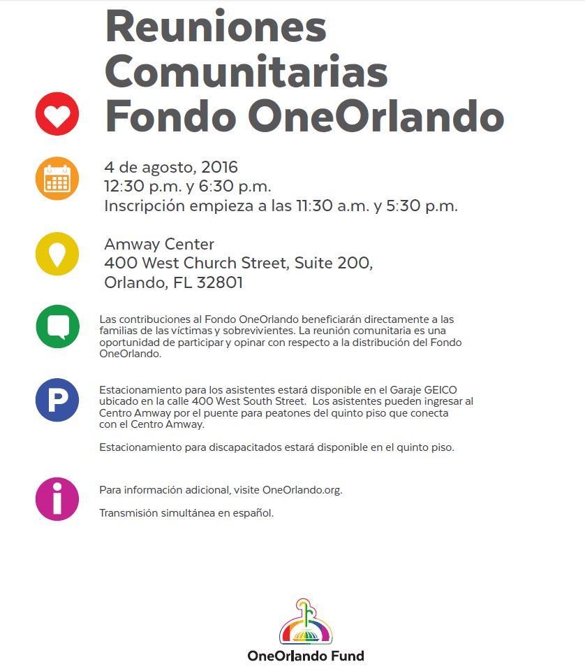 OneOrlandoFundSpanishTownHall2016
